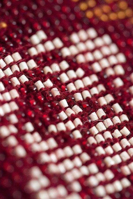 raudonos (bordo) spalvos riešinės