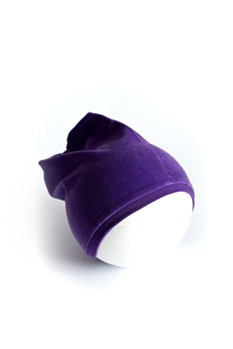 Kepurė Kristaliniai Rombai šviesiai violetinės spalvos